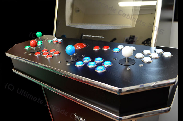 4 player control panel