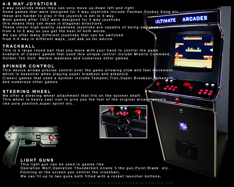 arcade controls explained