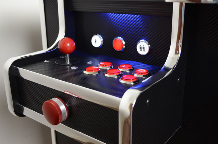 carbon fibre arcade table