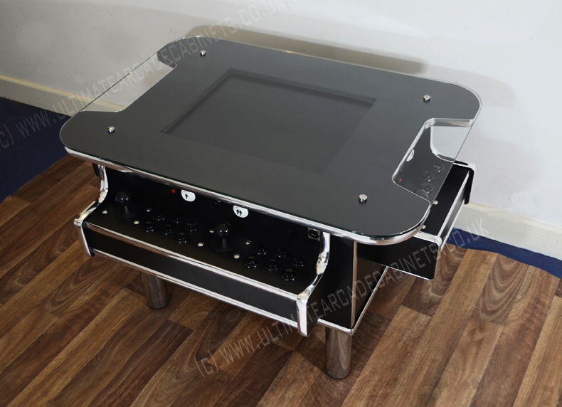 Coffee table with side controller