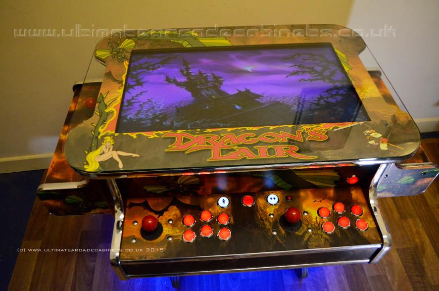 dragons lair arcade table