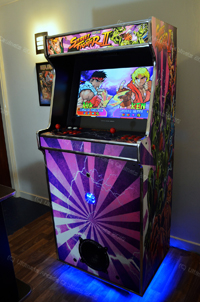 street fighter upright