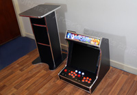 Space Invaders Arcade machine Table
