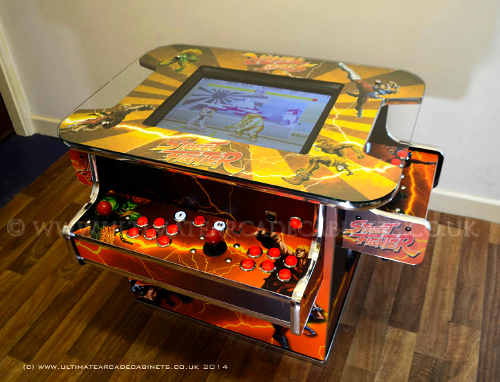 street fighter style table