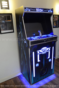 Tron arcade photos